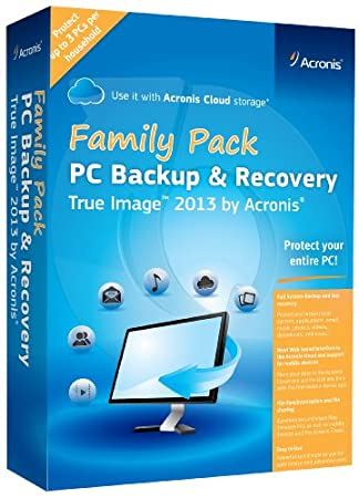 True Image 2013 Family Pack (3-Users)