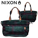 【NIXON】ニクソン レディースバッグ 2WAYショルダーバッグ トートバッグ/ALMA MATER SATCHEL/PLAID