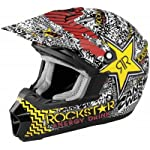 Answer Youth Nova Motocross Helmet 2011 Rockstar Red Medium M 454291