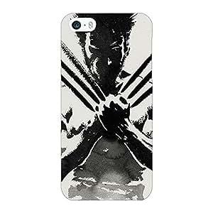 Jugaaduu Wolverine Hugh Jackman Back Cover Case For Apple iPhone 5