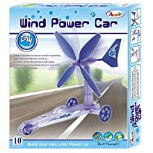 Do-It-Yourself DIY Wind Power Car Toy For Kids