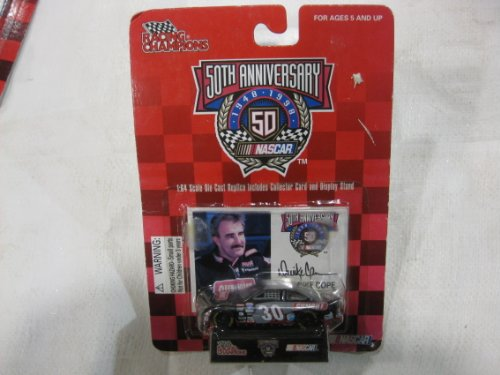 50th Anniversary Nascar - Derrike Cope - #30 Gumout 1:64 scale car - with Trading Card