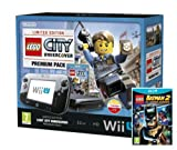 Nintendo Wii U 32GB LEGO City: Undercover Premium Pack - Black with LEGO Batman 2: DC Superheroes (Nintendo Wii U)