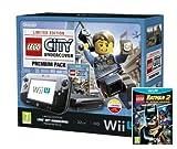 Nintendo Wii U 32GB LEGO City: Undercover Premium Pack - Black with LEGO Batman 2: DC Superheroes (Nintendo Wii U)