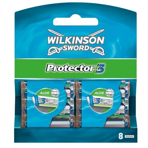 Wilkinson Sword Protector 3 Klingen, 8 Stück