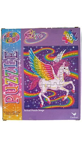 Lisa Frank Rainbow Majesty 48 Piece Jigsaw Puzzle