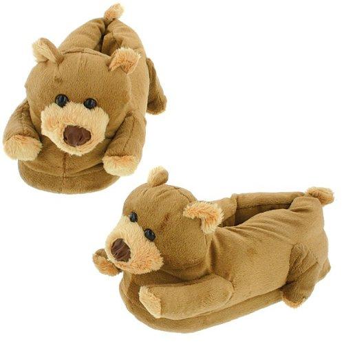 Cheap Brownie Bear Slippers for Men, Women and Kids (B000MOK9N2)