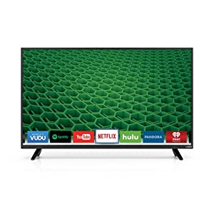 "VIZIO D39h-D0 D-Series 39"" Class Full Array LED Smart TV (Black) by VIZIO"