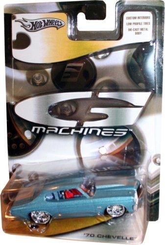 Hot Wheels G- Machines: Light Blue Metallic 70 Chevelle