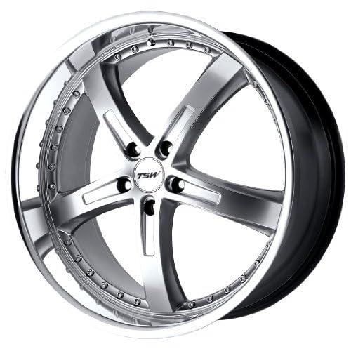 TSW Alloy Wheels Jarama Hyper Silver Machined Wheel (17x8/5x114.3mm)
