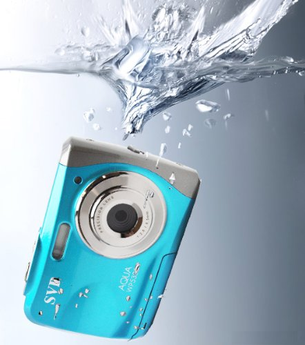 NEW WP5300 Blue Waterproof 12MP Digital Video Recorder/Camera