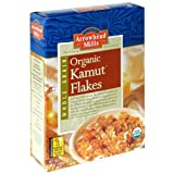 Arrowhead Mills Organic Kamut Flakes, 12 Ounce (Pack of 12)