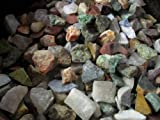 2 POUNDS OF A 12 Stone Mix from Madagascar rough gemstones labradorite, rose quartz, septarian, green opal, desert jasper, apatite, amethyst, petrified wood, girasol opal, red jasper, yellow jasper & chrysocolla