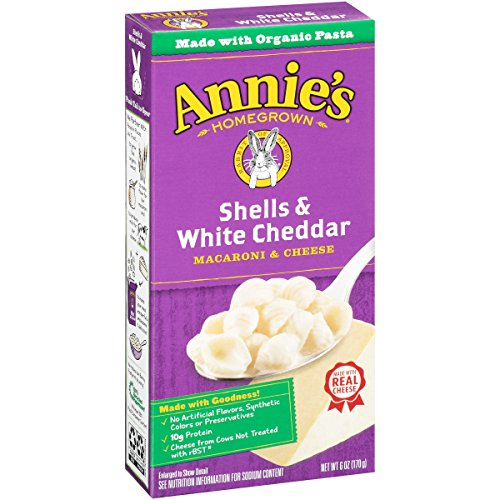 Annie's Shells & White Cheddar Macaroni & Cheese 6 oz. Box (Pack of 12) (Box Mac And Cheese compare prices)