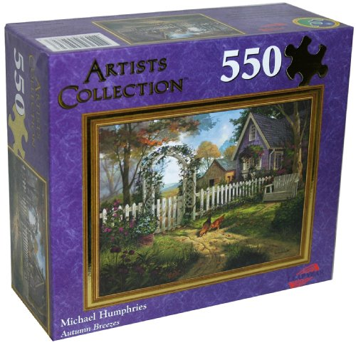 Cheap Leap Year Publishing LLC Artists Collection 550-Piece Jigsaw Puzzle, Michael Humphries, Autumn Breezes (B002XNKYIK)