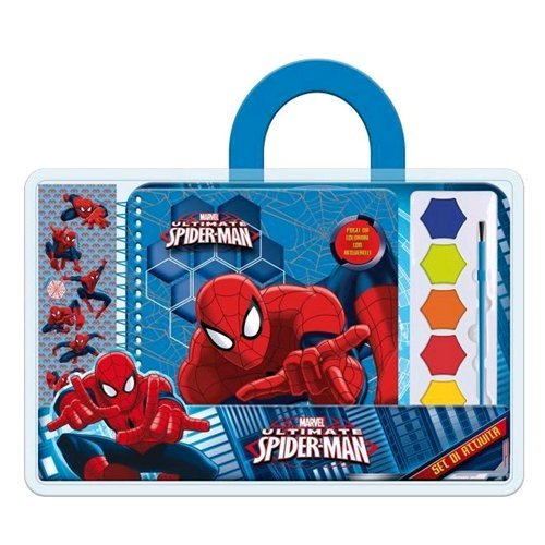 Marvel Ultimate Spiderman - Album e Acquerelli