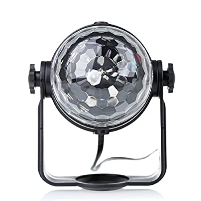 High Quality Disco Light | Stage Lighting Self-Propelled & Sound Actived | Lieghtweight LED Ball Lights For Disco, Club, DJ Party, Wedding & Stage Lightening with UK Plug - ccbetter