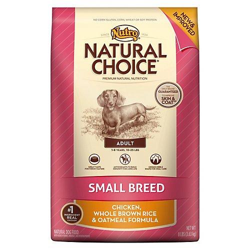 Nutro Natural Choice Small Breed Dry Dog Food 15Lb