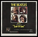 LET IT BE * 6SH ORIG HUGE MOVIE POSTER THE BEATLES 1970 Amazon.com