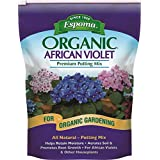 Espoma AV4,  Organic African Violet Potting Mix, 4-Quart (Color: LAWNGARD, Tamaño: 4 quart)