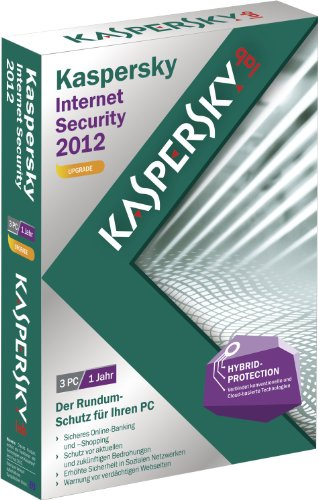 Kaspersky Internet Security 2012 3 Lizenzen Upgrade