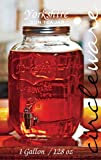 GLASS BEVERAGE DISPENSER - MINI MASON JAR - 1 GALLON - Brand NEW - Gift Boxed