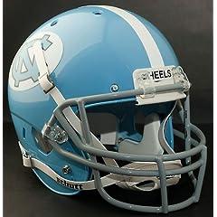 NORTH CAROLINA TAR HEELS 1967-1977 Schutt AiR XP Authentic GAMEDAY Football Helmet... by ON-FIELD