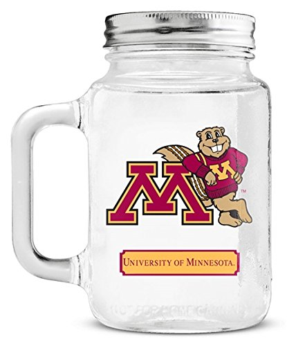Minnesota Golden Gophers Mason Jar Glass With Lid ботинки meindl meindl minnesota gtx