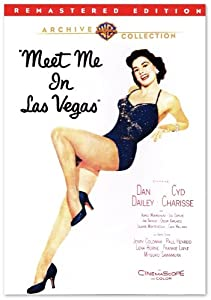 Meet Me in Las Vegas - Cyd Charisse, Dan Dailey, Agnes Moorehead <DVD-R><Remastered Edition > Colorized (1956)