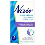 6 x Nair Ultra Precision Facial Brush-On Sensitive Hair Remover 50ml