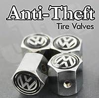 VW Volkswagen Anti-theft CAR Wheel Tire Valve Stem Caps from AA