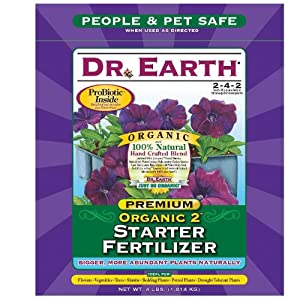 [Best Organic 2 Transplant Starter Fertilizer]