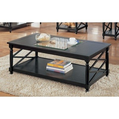 Buy Low Price Coffee Table With Metal Casters In Cappuccino Oct468 Coffee Table Bargain