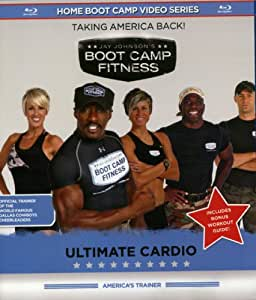 Jay Johnson's Boot Camp Fitness: Ultimate Cardio [Blu-ray]