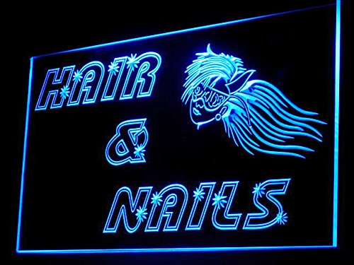 C B Signs Hair And Nails Led Sign Neon Light Sign Display