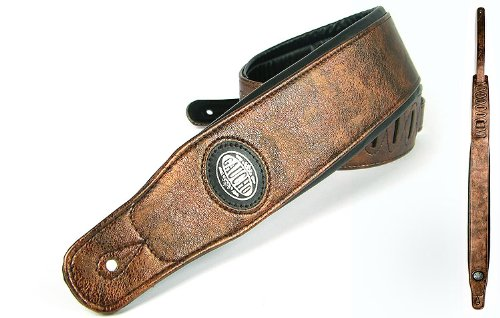 Dark Brown Guitar Strap: Electric/Acoustic/Electro/Bass (1.27M) Gifts