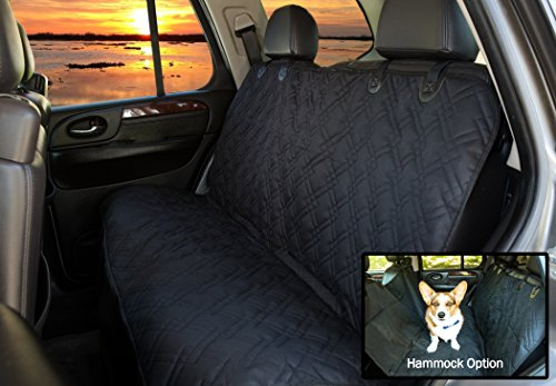 Pet-Krewe-Pet-Car-Seat-Cover-With-Seat-Anchors-for-Cars-Trucks-and-Suvs-WaterProof-NonSlip-Backing