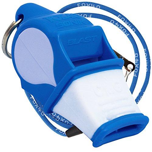 Fox 40 Sonik Blast Whistle Blue / White (Blast Whistle compare prices)