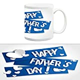 TIA Creation Happy Fathers Day Mug, Best for Everyday Gifts