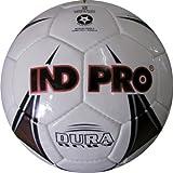 Indpro Unisex Dura Football 5 White Black