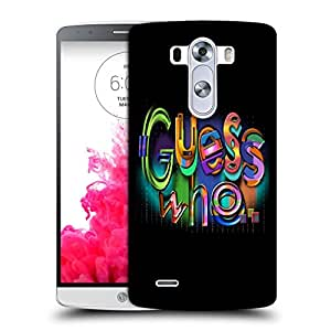 Snoogg Guess Who Designer Protective Back Case Cover For LG G3