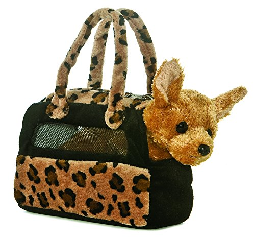 Aurora Plush Chihuahua Fancy Pals purse - 1