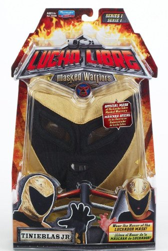 Buy Low Price Playmates Lucha Libre USA: Masked Warriors – Tinieblas Jr. Mask Figure (B004J1UN6W)
