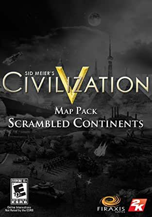 "Sid Meier's Civilization V Map Pack: ""Scrambled Continents"" [Online Game Code]"