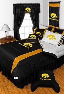 Iowa Hawkeyes 4 Pc FULL Comforter Set & Bonus 4 Pc Towel Set - Entire Set... by Sports Coverage