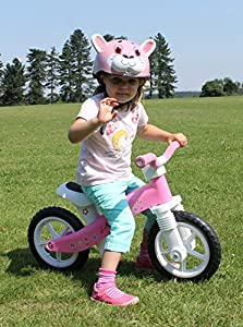 LA Sports Lightweight First Childrens / Toddler / Kids Balance Bike No Pedals Suitable Ages 2, 3 & 4