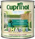 New 2014 Cuprinol Garden Shades Wild Thyme 2.5L