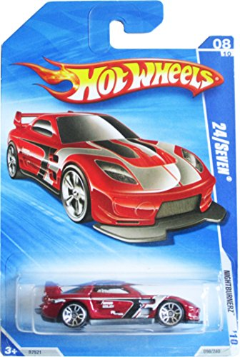 Hot Wheels '10 Nightburnerz Red 24/Seven 096/240