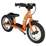 Bikestar 12 Inch (30.5cm) Kids Balance Bike / Kids Running Bike - Classic - Orange