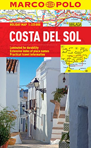 Costa Del Sol Marco Polo Holiday Map (Marco Polo Holiday Maps)